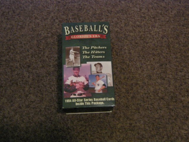 Special 3-Pack VHS Set Baseball's Glorious Era The Pitchers, The Hitters, The Teams #301441