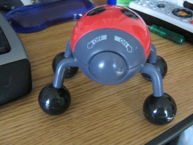 Battery Operated Ladybug Body Massager #301454