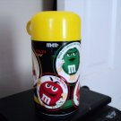 Collectible Yellow Top M & M Plastic Thermos #301507
