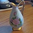 Vintage Ucagco Ceramics Japan Hand Painted Mini Pitcher #301577
