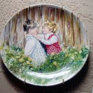 Be My Friend Mary Vickers Wedgwood Queen's Ware Collector Plate First Issue #7308 J England #301592
