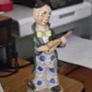 "8 1/4"" Mandolin Strumming Pointy Hair Clown Figurine #301620"