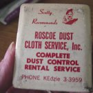 Old Roscoe Dust Cloth Service, Inc. Invoice Paper Clip #301684