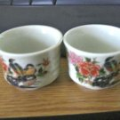 Vintage Colonial Porcelain Votive Candleholders #301723