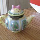Beautiful Me Ink Tiny Porcelain Rose Tree Lidded Teapot #301731