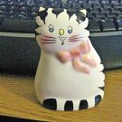 Price Products Striped Blue Eyed Cat Porcelain Bell Figurine #301907