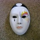 Vintage Franco Zarri Profumerie Porcelain Mask Container for Soap or Potpourri #301911
