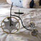 Small Metal Bicycle Tricycle Plant or Flower Holder Stand #301925