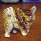 Old Vintage Porcelain Red Pomeranian Dog Figurine Made in Japan #300774