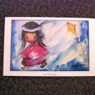 Ted DeGrazia Print Away With My Kite Signed 1992 #301759
