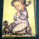 Pair of D.A.C. N.Y. Litho Prints Children Praying #300006