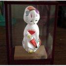 Little Asian White Bisque Girl Figurine in Case #300838