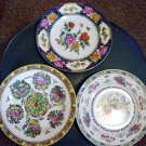 Set of Three Asian Wall Decor Collector Plates  #300645