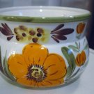 Hand Painted Napcoware White Bright Flowers Porcelain Planter #300980
