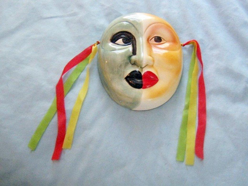 Vintage 1984 Albert E. Price Decorative Wall Mask #301641