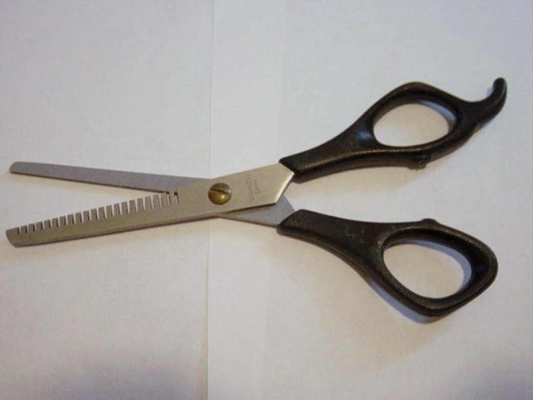 "6 1/2"" Stainless Steel Hair Thinning Barber Scissors  #301995"