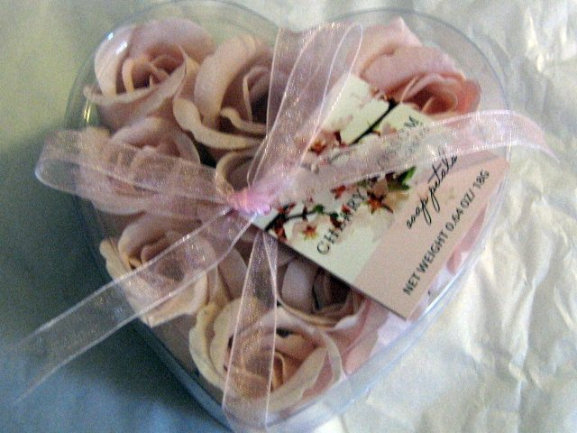 Pink Cherry Blossom Scented Soap Petals #302063