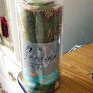 100% Pashmina Fashion Scarf Shawl Wrap Olive, Light Orange, Turquoise, Green NIP #302104