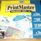 PrintMaster Publishing Suite 7.0 Program CD #302152