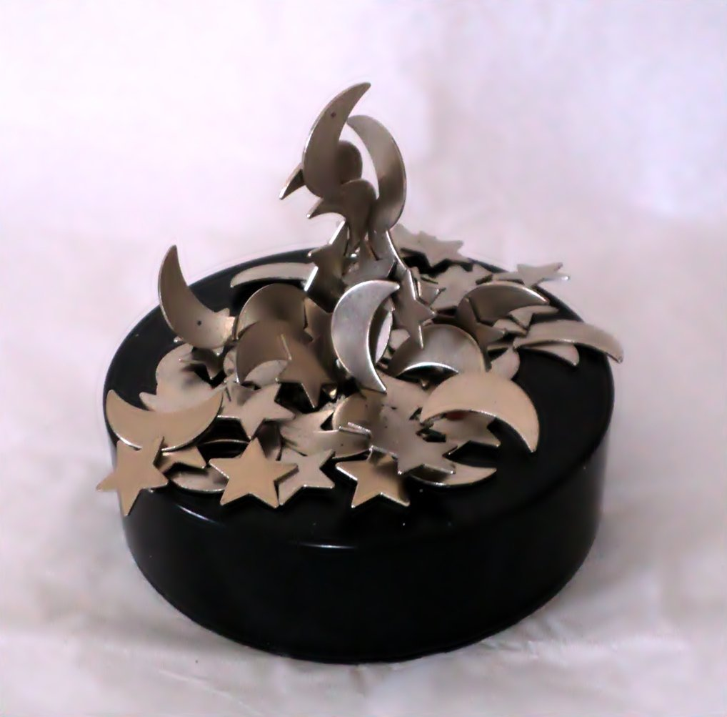 Moons & Stars Sculpture on Magnet Base #302204