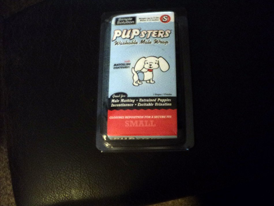 Simple Solution Pupsters Washable Male Dog Wrap Small   #302254
