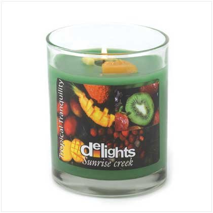TRANQUILITY DELIGHTS CANDLE