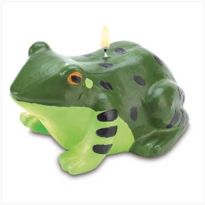 FRIENDLY FROG CANDLE