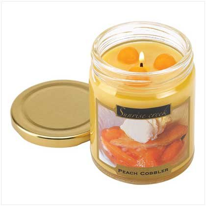 PEACH COBBLER SCENT CANDLE