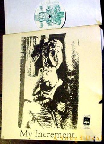 MY INCREMENT SHARON TATE RARE DIY SPLIT LP PUNK HARDCOR