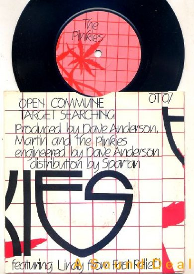 "PINKIES Open Commune '81 UK fem punk crass 7"" ASD"