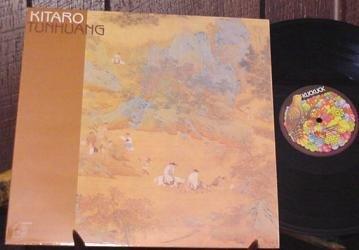 KITARO LP TUN HUANG '80 GERMAN PRESS NEW AGE SILK ROAD