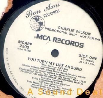 "CHARLIE WILSON '92 12"" YOU TURN MY LIFE AROUND GAP BAND"