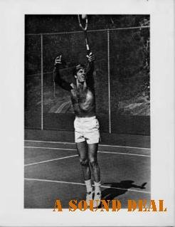 ROBERT REDFORD Vintage '70s Photo Sexy Tennis Shot