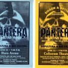PANTERA Sepultura 2 HANDBILL Poster LOT Far Beyond Driv