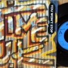 "TIME UK OG '85 UK MOD PS 7"" YOU WON'T STOP NEW WAVE"
