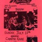 PALADINS CANDYE KANE Rockabilly Texas HANDBILL Poster