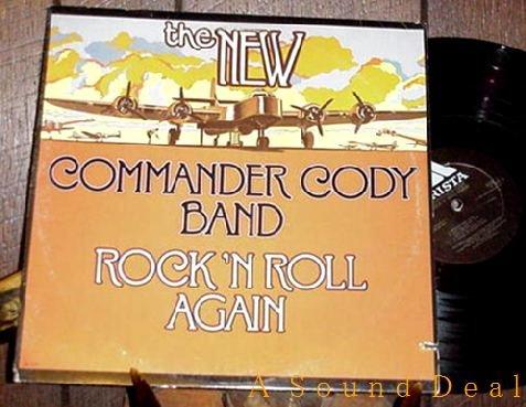 COMMANDER CODY OG'77 LP ROCK 'N ROLL AGAIN