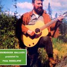 PAUL ROSELAND RARE '67 ALASKA FOLK LP SOURDOUGH BALLADS