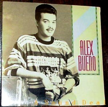 ALEX BUENO RARE '91 S/T KAREN LP LATIN MERINGUE SEALED!