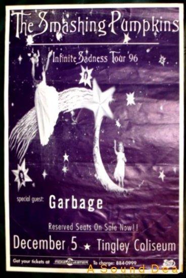 SMASHING PUMPKINS Garbage Infinite Sadness '96 POSTER