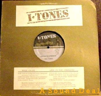 "I-TONES '83 Private 12"" WALK ON BY Burt Bacharach MINT!"