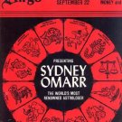 VIRGO Vintage HOROSCOPE LP ASTROLOGY Zodiac SYDNEY OMAR