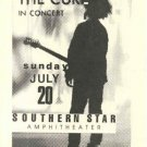 THE CURE ORIGINAL RARE'86 SOUTHERN STAR HANDBILL POSTER