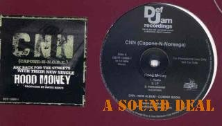 "CNN MINT DJ 12"" HOOD MONEY CAPONE N NOREAGA GANGSTA RAP"