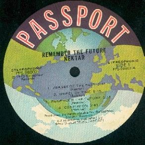 NEKTAR Remember the Future LP Prog Psych ASD