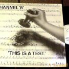 "CHANNEL 5 HTF '88 NEW BEAT DIKI 12"" THIS IS A TEST"