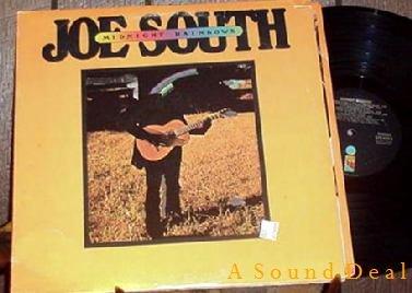 JOE SOUTH MIDNIGHT RAINBOWS OOP '75 LP