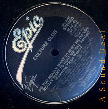 """CULTURE CLUB OG '82 12"""" DO YOU REALLY WANT TO HURT ME?"""