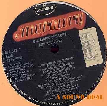 "DJ CHUCK CHILLOUT & KOOL CHIP 12"" Rhythm is Master '89"