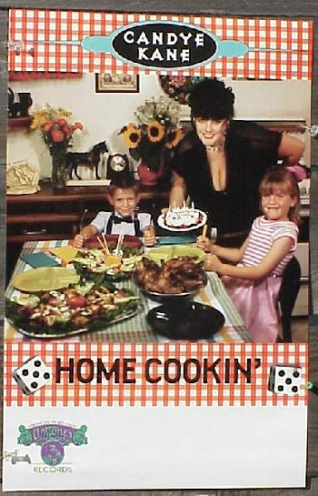CANDYE KANE Home Cookin' promo POSTER Blues pin-up
